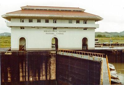 Miraflores Locks, Panama Canal 1983