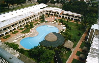 Panama Hilton Hotel, Panama City, Panama June 1985