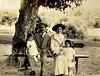 Luisa, Giovanni, Amaglia, Adele Fontanari (early 1910s circa 1913-1914)