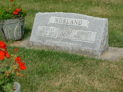 Located in the Lutheran Cemetery in Decorah