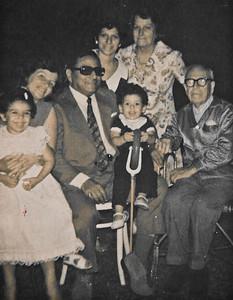 My 3rd Birthday.  L-R me, Ima, Bibo, Ma, Nonna, Nonno Fontanari.  Squirt in the middle is K.  :-)