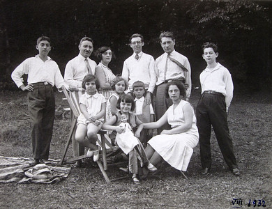 Family in Romania