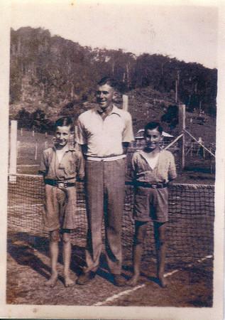 Rodney, David & Peter Bray