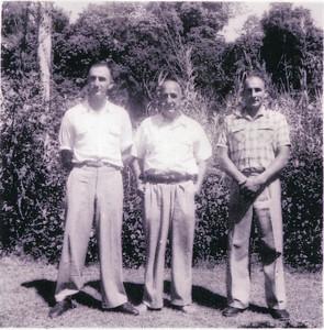 Rodney, Frank & Peter Bray