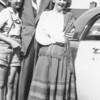 Frances, Carl, Dori - 9/20/1951