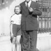 Frances and grandfather (Alfons Brill)