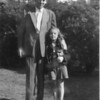 Frances and her father (Carl) in Central Park - Summer 1948