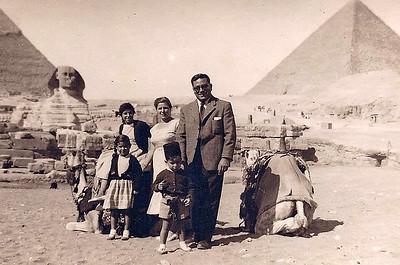 Cairo, Gizeh, 1957(?).