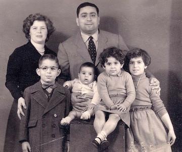 Family Portrait, Alexandrie, 1954.