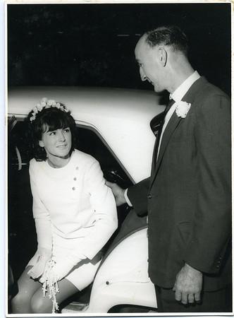 Me and my dad Rodney Bray  Photographed on 30 Aug 1968 at Isle of Capri Presbyterian Church, Gold Coast.
