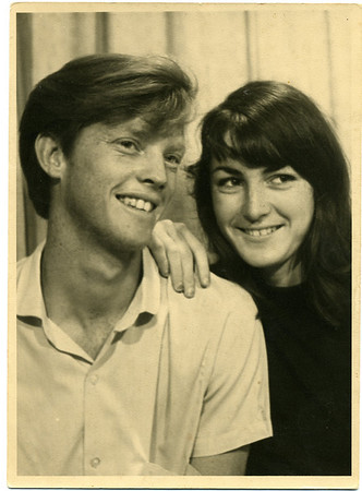 Darryl & Lesley  Photographed at Surfers Paradise in 1966
