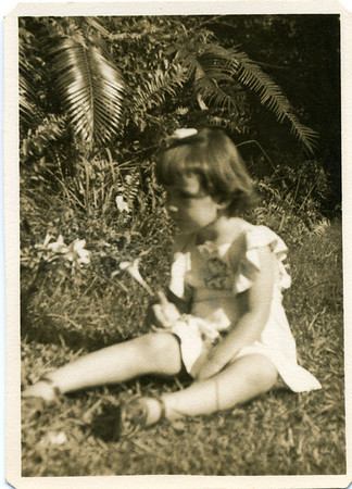 Lesley Bray at Kynnumboon, Murwillumbah in New South Wales in 1953.