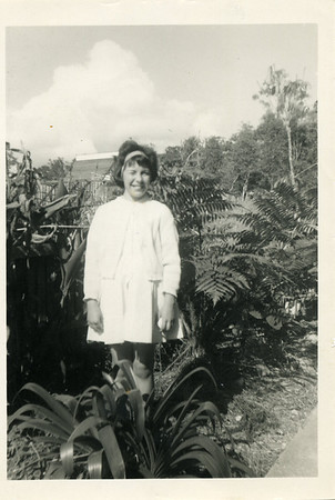 Garland Bray at Mudgeeraba, Queensland, Australia.  Photo from my mothers collection, Moira Bray