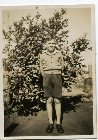 My cousin - Peter English - I don't remember ever meeting him.  Photo from my grandmother's collection - May McGilvery (nee Munro)