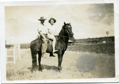Photo from my grandmother's collection - May McGilvery (nee Munro)