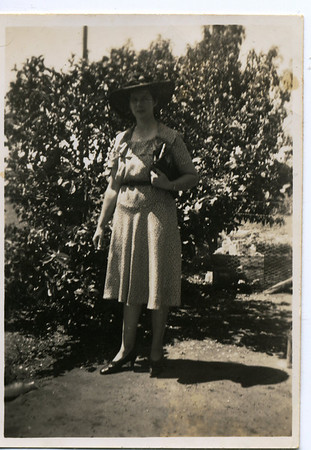 Nell  Nell has written on the back of photo - 'Fat me'  Photo from my grandmother's collection - May McGilvery (nee Munro)
