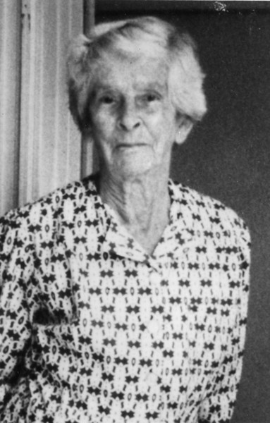 My grandmother - May McGilvery (1895-1992).