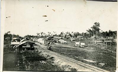 A railway siding.