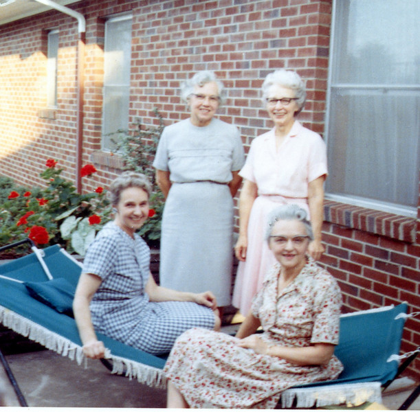 Left to right - Ruth, Lynn, Ora, Lillian (seated) Peters