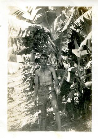 Rodney Bray in Banana Plantation