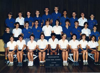 Rockhampton State High School 1986