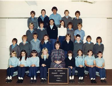St Mary's Primary School, Charleville 1983