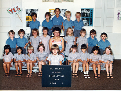 St Mary's Primary School, Charleville 1984