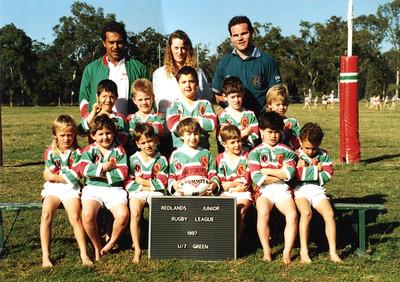 Redlands Junior Rugby League 1997