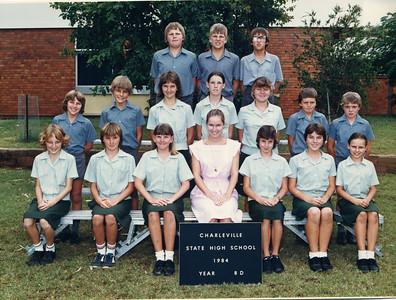 Charleville State High School 1984