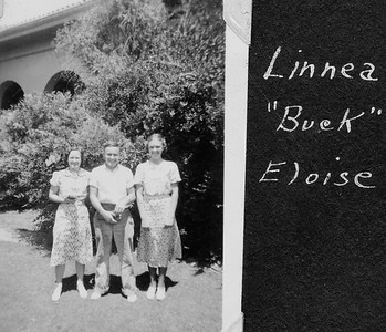 "Linnea, ""Buck"", Eloise"