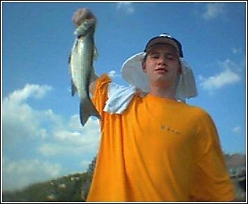 Jack P fishing Lakehouse - Summer 2003