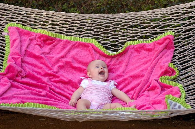 Baby on a Hammock