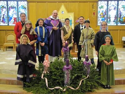 Family Liturgy 12.7.2014