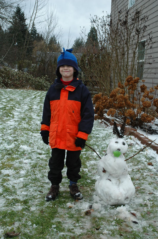 Snow Play 2005