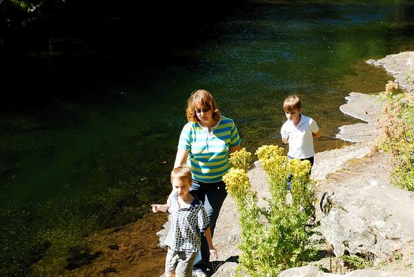 Playing at Salmon River