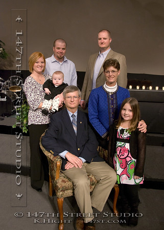 More family portraits at Bev & Jeff's Wedding Ceremony 2009.