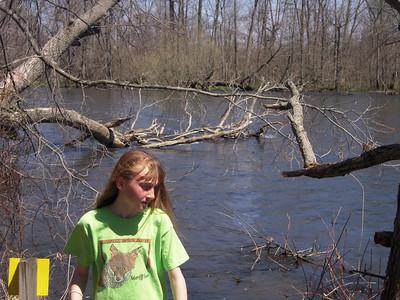 Kalamazoo river at the Nature Center