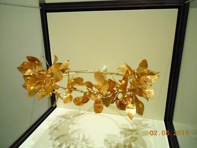 Roman gold crown