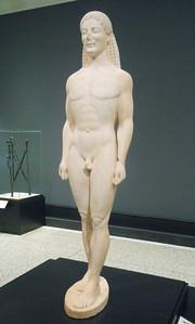 Unknown, Greek Statue of a Kouros ca. 530 B.C.,