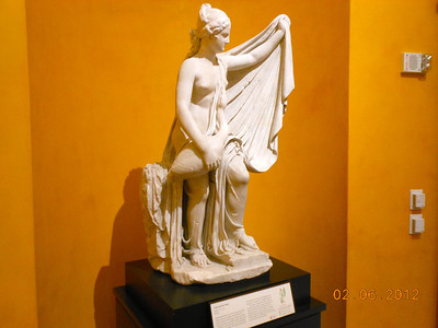 After Timotheos, Leda and the Swan, AD 1-100 Marble, 52 inches