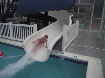 Ashley....pool fun