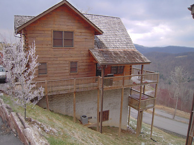 Our cabin at Scenic Wolf Resort Mars Hill NC