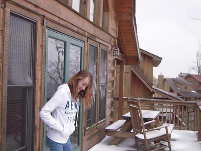 Cassie on Porch