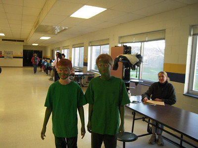 Zach & his friend at the NC State Odyssey of the mind competition