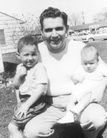 Jim III with children Jim IV (L) and Frank. Photo taken at our apartment in Ft Wayne IN circa 1958 Sadly, in 2016 the 'Anthony Wayne Village' apartments were razed.