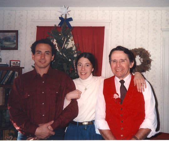 L-R Jim IV with wife Ann and Jim III