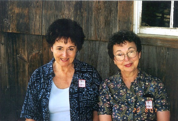 Joan (Lacey) Tallman and Mary Lacey at Old Sturbridge Village.