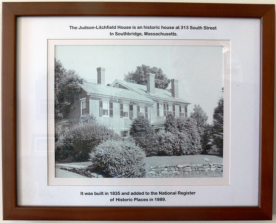 The Southbridge MA Dr. James T. Lacey family home from 1931-1354. Not shown is the addition of a 3-car garage with 5 rooms above. The house was sold to the Ken Dall family which (as of 2015) still owns the property. Now on the National Register of Historic Places.