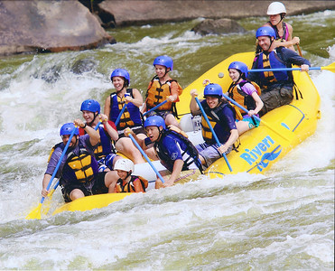 Whitewater Rafting 8-2013