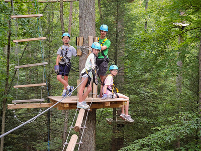 WV Vacation 2013-08-12  High ropes platform edited for print